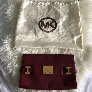 Michael Kors Envelope Style Clutch